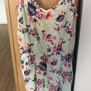 Floral Rumper with Pockets